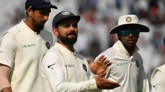 कसोटी क्रमवारीत भारतीय संघाचे अव्वलस्थान कायम