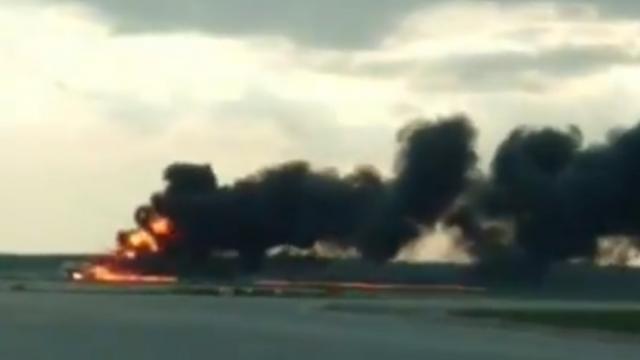 मॉस्को विमान अपघात