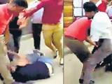 तरुणीला मारहाण झाल्याचा व्हिडिओ सोशल मीडियावर व्हायरल