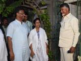 आंध्र प्रदेश मुख्यमंत्री चंद्राबाबू आणि पश्चिम बंगालच्या मुख्यमंत्री ममता बॅनर्जी