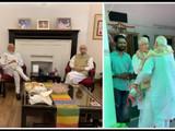 पंतप्रधान नरेंद्र मोदी यांनी लालकृष्ण अडवाणी आणि मुरली मनोहर जोशी यांची भेट घेतली