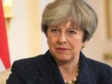 ब्रिटनच्या पंतप्रधान थेरेसा मे