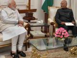 पंतप्रधान नरेंद्र मोदी आणि राष्ट्रपती रामनाथ कोविंद