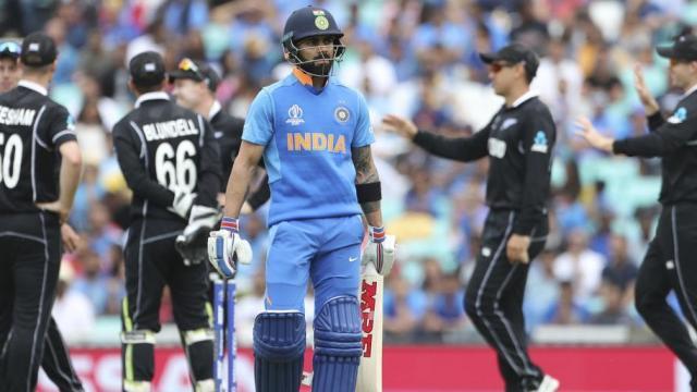 सराव सामन्यात भारताचा न्यूझीलंडकडून पराभव (AP)