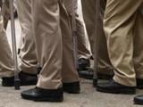 पोलिस बंदोबस्त (संग्रहित छायाचित्र) (Burhaan Kinu/HT PHOTO)