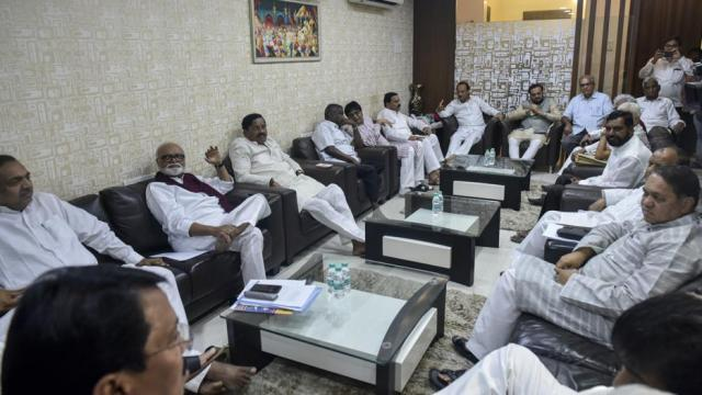 महाराष्ट्रातील विरोधकांची बैठक