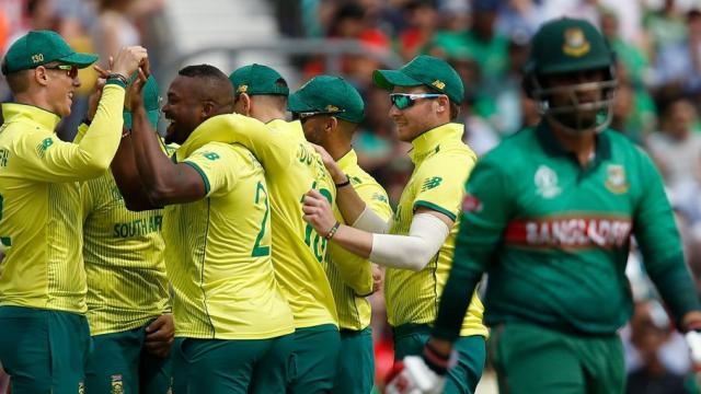 दक्षिण आफ्रिका विरुद्ध बांगलादेश