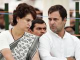 प्रियांका गांधी आणि राहुल गांधी