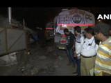 विक्रोळी येथील अपघातस्थळ (ANI)
