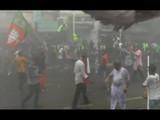 पश्चिम बंगालः भाजपच्या मोर्चावर पोलिसांचा लाठीचार्ज, अश्रूधुराचाही वापर