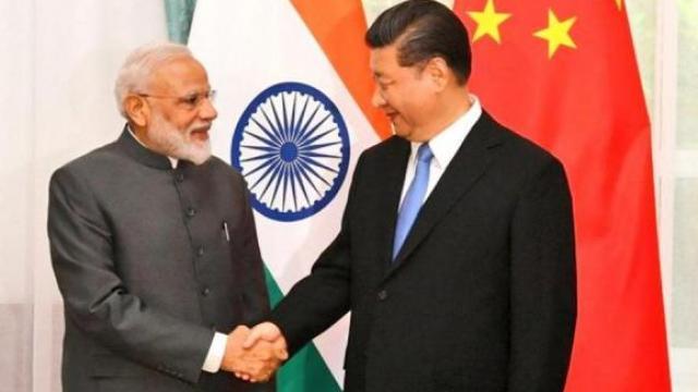 पंतप्रधानांनी घेतली चीनच्या राष्ट्रपतींची भेट