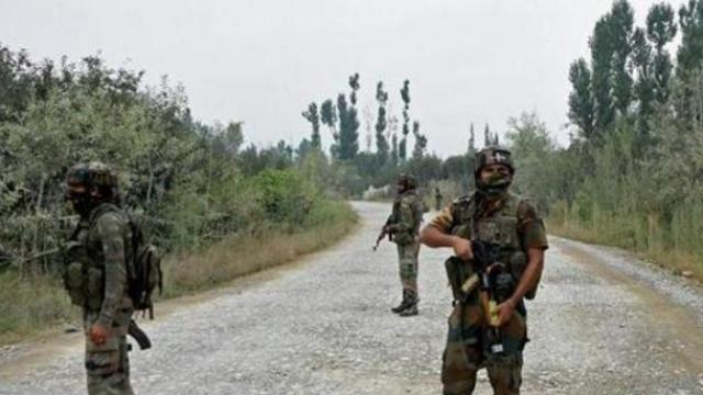 काश्मीरमध्ये तैनात असलेले जवान