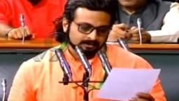 जय शिवराय, जय महाराष्ट्र! अमोल कोल्हेंसह काही खासदारांनी घेतली मराठीत शपथ