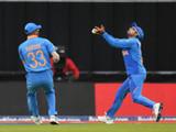 भारत-श्रीलंका यांच्यातील सामन्यादरम्यानचा एक क्षण