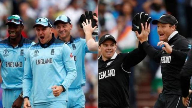 न्यूझीलंड आणि इंग्लंड यांच्यात विश्वचषकातील अंतिम सामना रंगणार आहे
