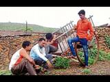 बीडमधील अविवाहितांचे वास्तव; पाणी नाही म्हणजे ना नोकरी, ना लग्न (Akshay Rade/HTPhoto