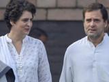 सोनिया, प्रियांका आणि राहुल गांधी