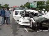 उन्नाव पीडितेच्या गाडीला रविवारी अपघात झाला