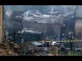 रावळपिंडीत पाकिस्तानी लष्कराचे एक विमान निवासी परिसरात कोसळले.  (AP)