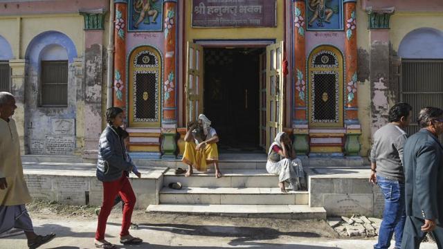 राम मंदिराचा प्रश्न (प्रातिनिधिक छायाचित्र)