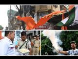 जम्मू काश्मीरमधील कलम ३७० हटवल्यानंतर देशभरात जल्लोषाचे वातावर