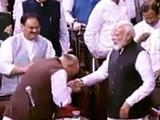 राज्यसभेत जम्मू-काश्मीर पुनर्रचना विधेयक मंजूर झाले