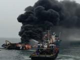 जहाजाला भीषण आग
