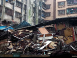 उल्हासनगर इमारत कोसळली