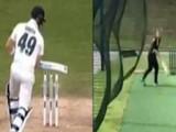 इंग्लंडच्या महिला क्रिकेटरचा हा व्हिडिओ होतोय व्हायरल