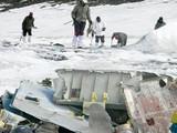 हवाई दलाच्या विमानाचे अवशेष