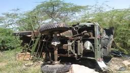 राजस्थान: लष्कराच्या ट्रकला अपघात, ३ जवानांनी गमावले प्राण