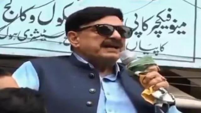 पाकिस्तानचे रेल्वेमंत्री शेख रशीद