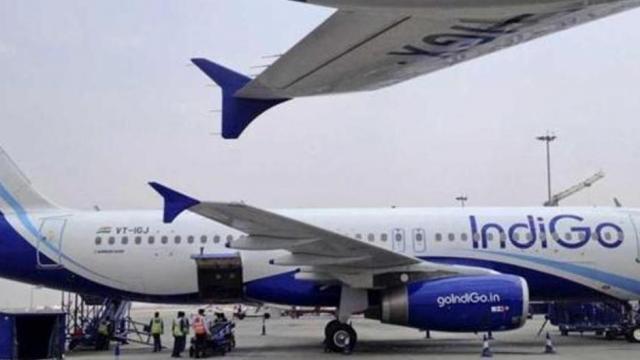 इंडिगो कंपनीचे विमान