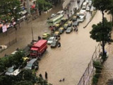 मुंबईत जोरदार पाऊस