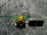ऑर्बिटरने चंद्राच्या पृष्ठभागावर असलेल्या विक्रम लँडरचे छायाचित्र टिपले असल्याची माहिती इस्रोने दिली