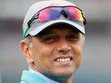 राहुल द्रविडने चिन्नास्वामी स्टेडिअमवर भारतीय संघाबरोबर वेळ व्यतीत केला.