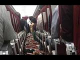 वीज चमकल्यामुळे एअर इंडियाच्या विमानाला धक्का, कर्मचारी जखमी (Photo:ANI)