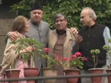 २ महिन्याच्या नजरकैदेनंतर पहिल्यांदाच फारुख अब्दुल्लांनी घेतली नेत्यांची भेट (ANI)