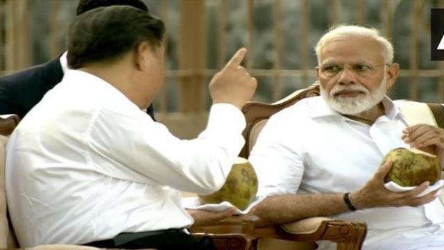 पंतप्रधान नरेंद्र मोदी आणि चीनचे राष्ट्राध्यक्ष शी जिनपिंग