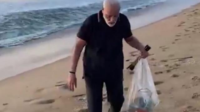 मोदींचा स्वच्छता संदेश