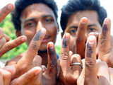 ग्रामीण भागात चांगले मतदान पण शहरी भागात निरुत्साह