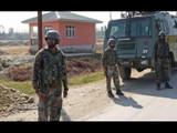 नौशेरात दहशतवाद्यांबरोबर चकमक, एक भारतीय अधिकारी शहीद