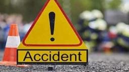 एक्स्प्रेस वेवर विचित्र अपघात, शेतकऱ्याला १० ते १५ गाड्यांनी उडविले