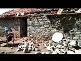 पावसामुळे घराचे मोठे नुकसान