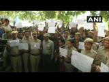 दिल्ली पोलिस आंदोलन