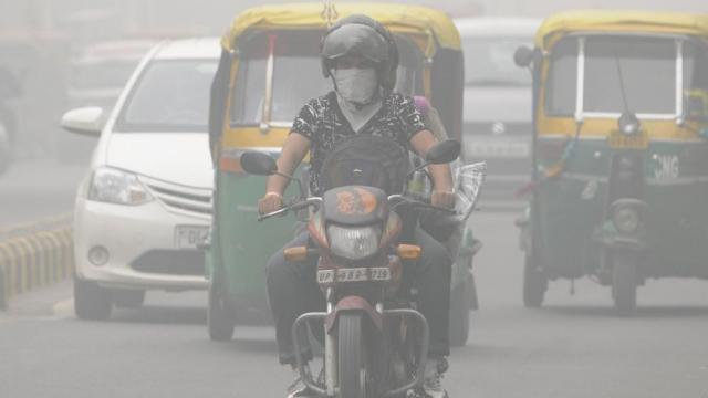 दिल्लीतील हवा प्रदूषण