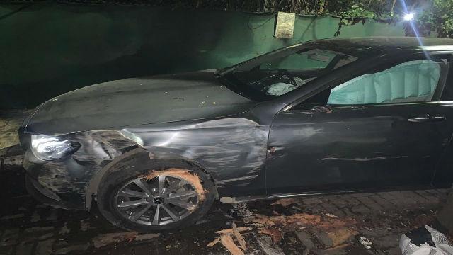 विश्वजित कदम यांच्या गाडीला अपघात