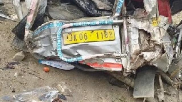 जम्मू-काश्मीर अपघात