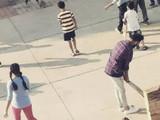 विराट कोहलीतील गल्ली क्रिकेटमध्ये फटकेबाजी