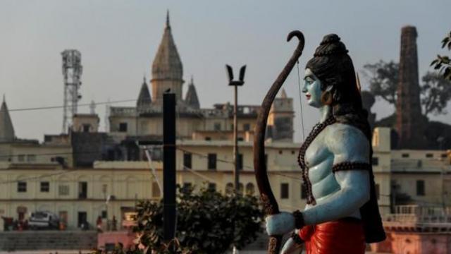 अयोध्येतील राम मंदिराचा प्रश्न मार्गी लागला आहे